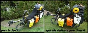 Vélo super chargé