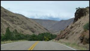 Début du Hell's Canyon, c'est parti pour une centaine de miles