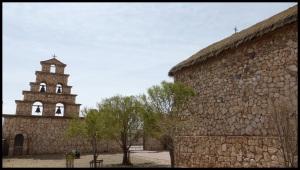 San Christobal. Eglise de style gaulois très probablement