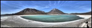 Laguna Verde, à une encablure de San Pedro de Atacama au Chili, notre destiation