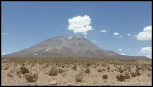 le volcan Ollagüe