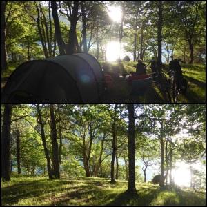 Bivouac de rêve au bord du lac Norquinco