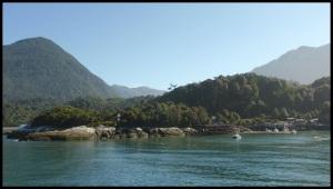 le port international de Chaiten. Capacité maximum : un mini ferry et 3 zodiacs