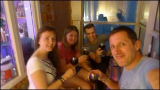 Avec Olga et Alek